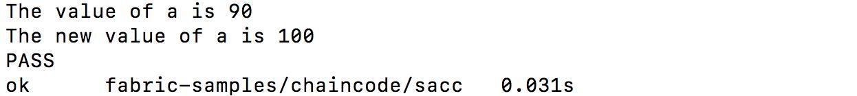 Fabric chaincode测试 —— 开发者模式和单元测试